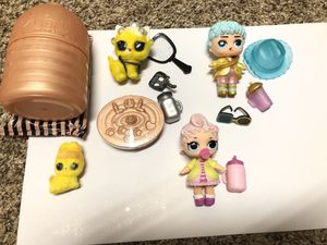2 LOL Dolls- the High-ney siblings and 2 matching Fuzzy Pets! for Sale in Gilbert, AZ