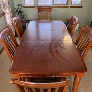 Dining Table, Chairs, And China Cabinet for Sale in Denver, CO