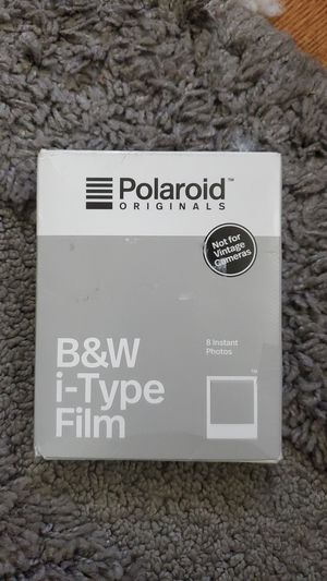 Polaroid originals instant film black-and-white film for I-TYPE, white for Sale in Chevy Chase, MD