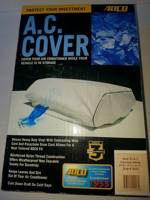 Air conditioner cover for your RV brand name is Adco for Sale in Peshastin, WA