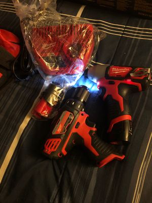 Milwaukee m12 drills for Sale in Falls Church, VA