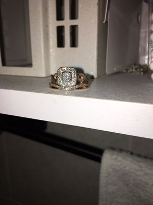 24k Rose Gold wedding rings w/ VVS Cuts!! for Sale in San Diego, CA
