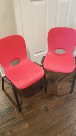 Set of 2 Lifetime kids chairs for Sale in Surprise, AZ