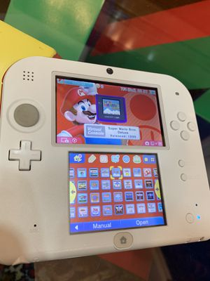 White red Nintendo 2ds 2000+ games for Sale in Atherton, CA