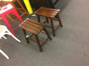 Set of 2 small bar stools for Sale in Houston, TX