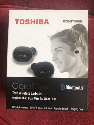 Toshiba RZE-BT800E True Wireless Earbuds for Sale in Los Angeles, CA