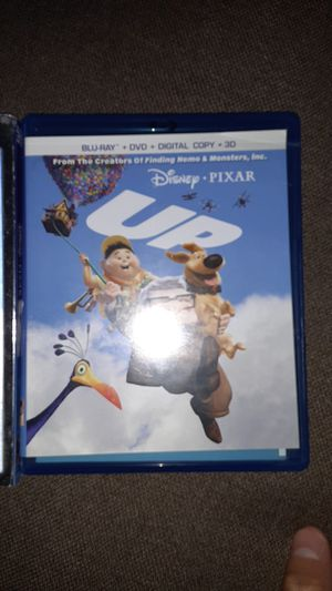 Disney Pixar movie UP 4 disk combo pack for Sale in La Verne, CA