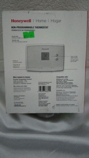 Non- Programmable Thermostat for Sale in Mableton, GA