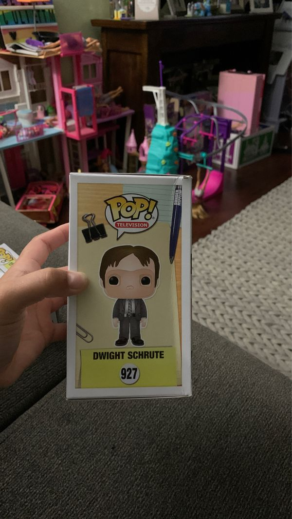 Funko Pop! The Office - Dwight FYE Exclusive (DAMAGED) horrible shipping