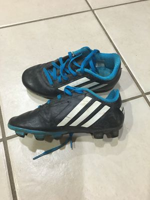 Boy's Adidas soccer cleats Size: 13C Retail: $24.99 Pick up only 77090 No Trades for Sale in Houston, TX