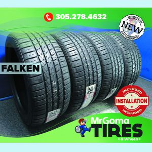 4 NEW 255/40/19 FALKEN AZENIS FK450 A/S XL TIRES 100Y 255/40ZR19 2554019 for Sale in Miami, FL