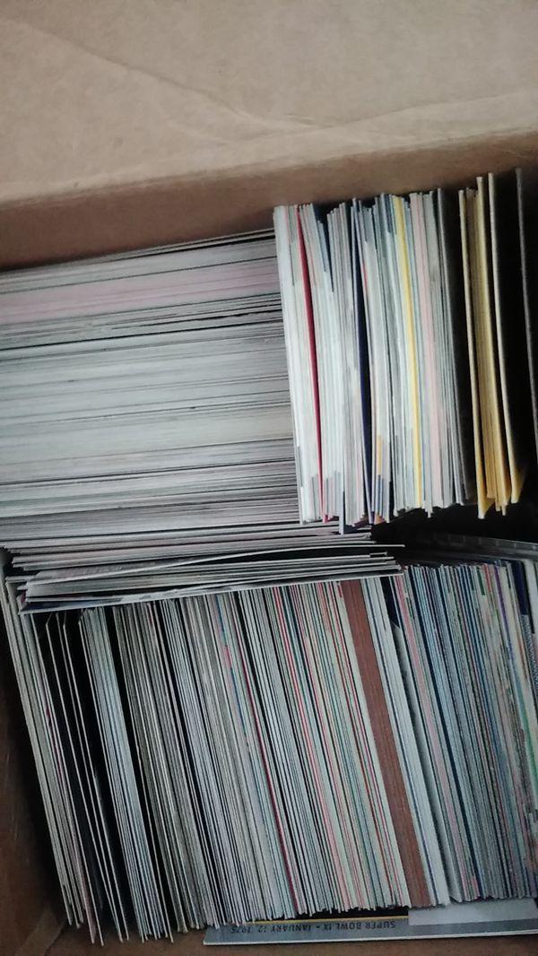 Full sets of basketball baseball pokimon cards