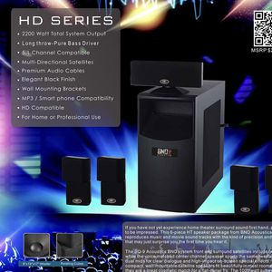 BNO TS-10 Home Theater System for Sale in West Haven, CT