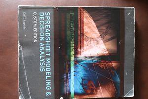 Spreadsheet Modeling & Decision Analysis for Sale in Harrisonburg, VA