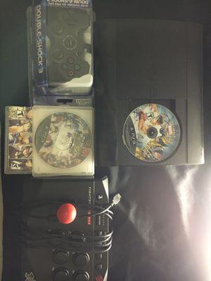 PS3 Arcade Bundle (Arcade Stick,3 Games) for Sale in Las Vegas, NV