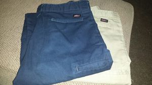 Boys bundle size 14 husky dickies uniform pants for Sale in Waterloo, IA