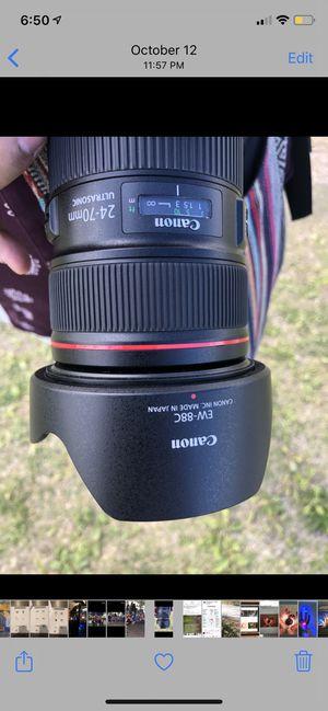 Canon lense For sale for Sale in Las Vegas, NV