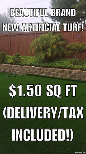 Brand new turf for Sale in Poway, CA