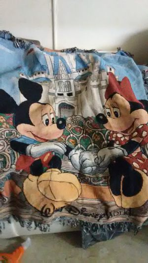 Mickey and minnie tapestry for Sale in Portland, OR