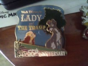 Lady and the tramp limited edition pin for Sale in Summerville, SC