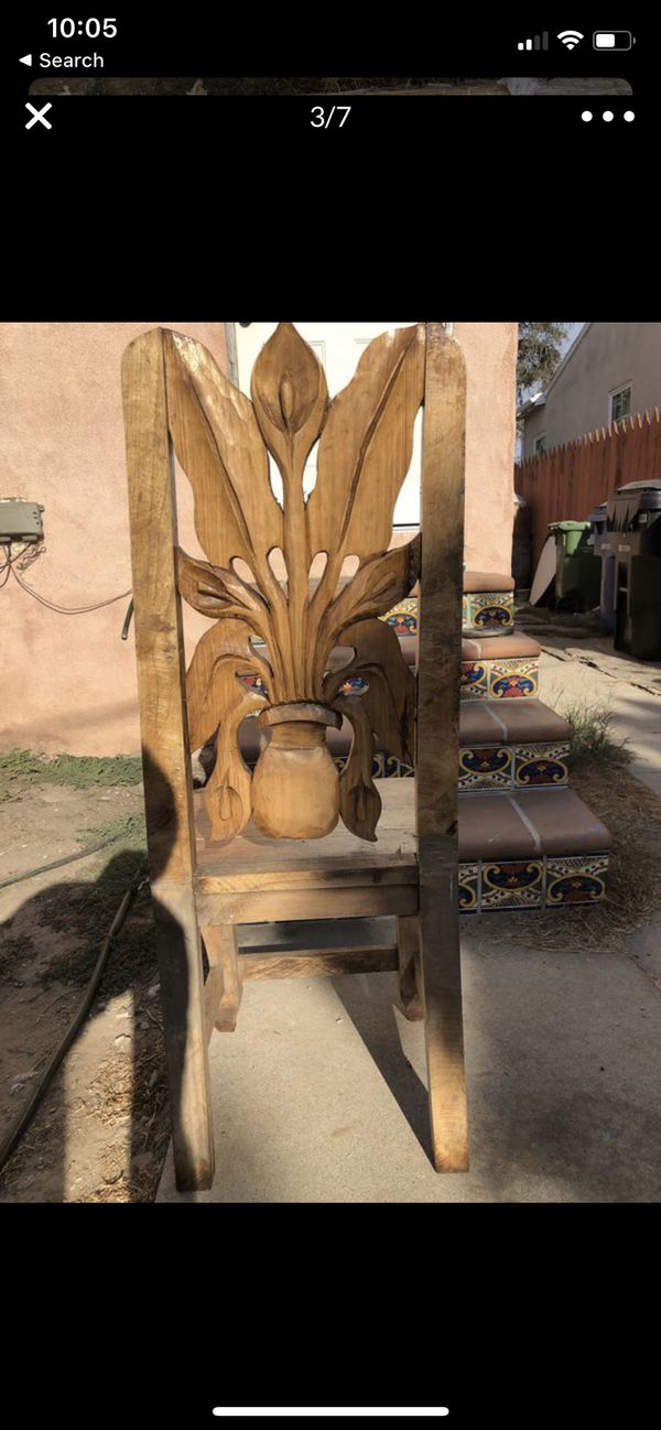 Authentic Hand Carved Diego Rivera Inspired Tables