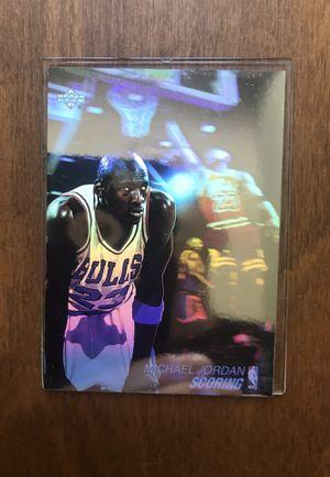 Michael Jordan upper deck hologram card for Sale in Raleigh, NC