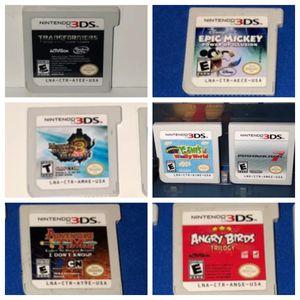 x7 Nintendo 3DS Games Bundle for Sale in Adelanto, CA