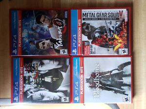 PS4 games for Sale in GERMANTWN HLS, IL
