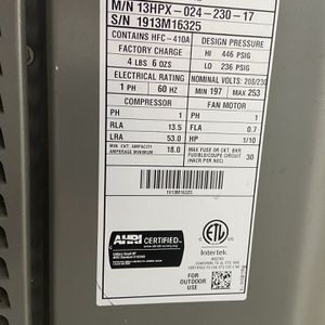 2-ton 3yr Old Lenox Heat Pump And Ac Unit Used Limited for Sale in Vancouver, WA