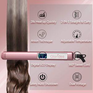 Flat Iron Titanium 1 Inch Professional Hair Straightener with Adjustable Temperature 170-450 ℉ for Sale in Orange, CA