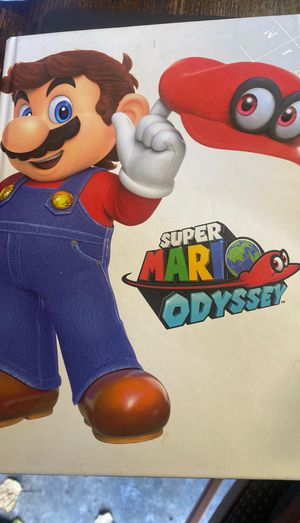Super Mario Odyssey Collector's Guide for Sale in Roy, WA