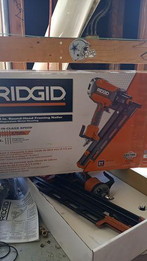 Ridgid nail gun for Sale in Monterey Park, CA
