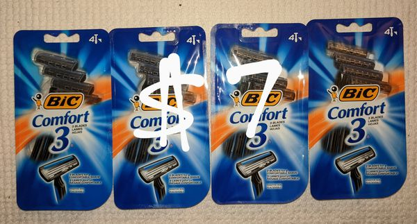 Bic Comfort 3 Razor Bundle