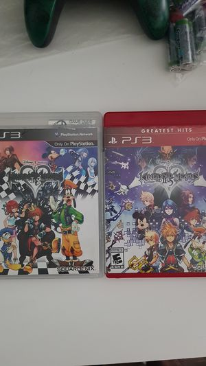 Kingdom Hearts 1.5 remix and 2.5 remix for Sale in Los Alamitos, CA