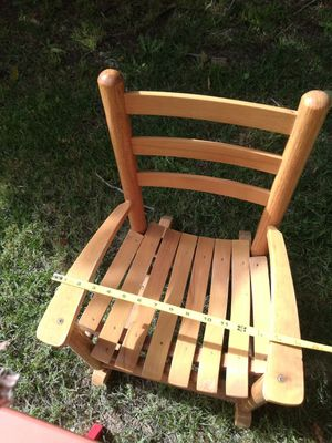 Kid's wooden rocking chair for Sale in Lakewood, CA