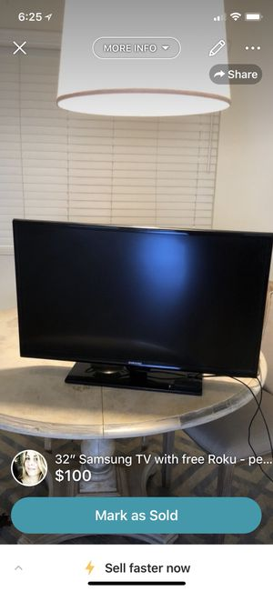 "32"" Samsung Flatscreen TV - Comes with Free Roku! for Sale in Los Angeles, CA"