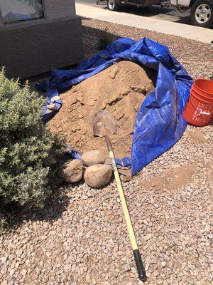 Free new clean fill dirt need gone ASAP for Sale in Phoenix, AZ