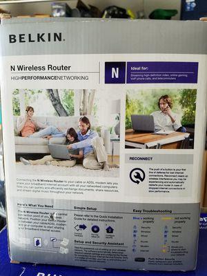 Belkin WiFi Router for Sale in Vero Beach, FL