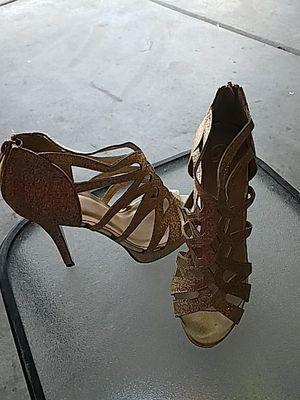 Gold heels for Sale in Las Vegas, NV