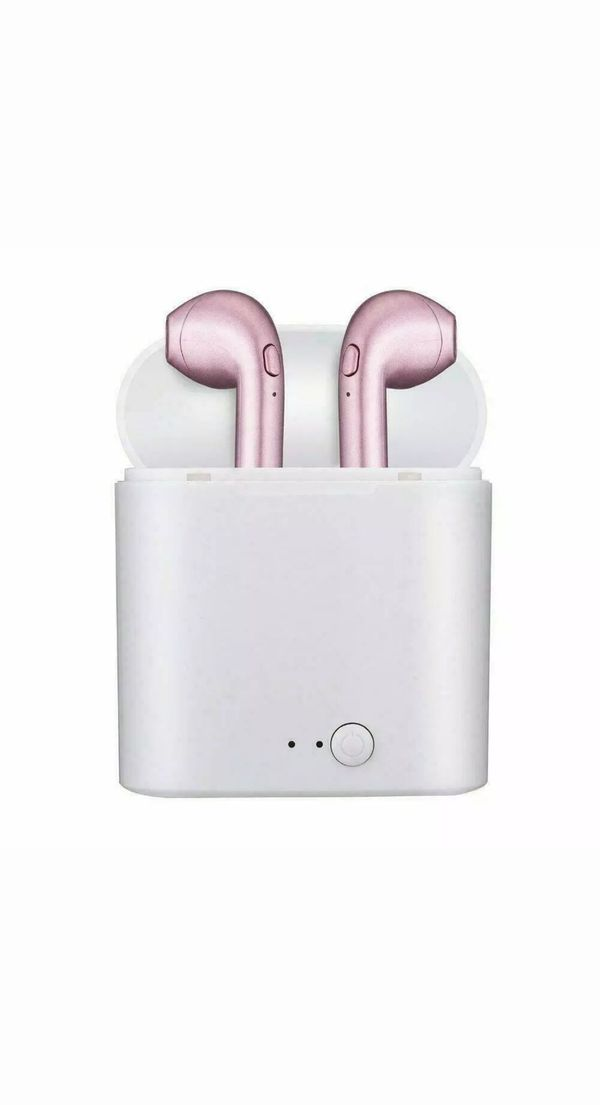 🌷PINK🌷EARPODS FOR ANDROID AND IPHONES BLUETOOTH CONNECTION BRAND NEW