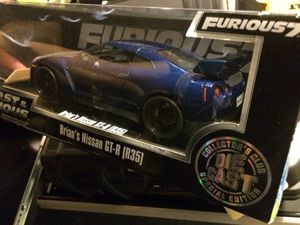 Fast and furious collectible gtr toy car for Sale in Lawrenceville, GA