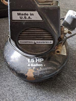 Campbell Hausfeld 4 Gallon Air Compressor for Sale in Seattle, WA