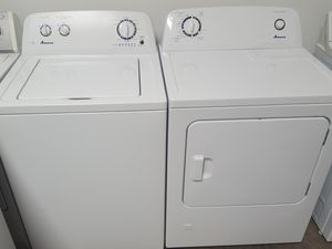 Nearly Brand New Whirlpool Amana Washer Dryer gas set for Sale in Laguna Hills, CA