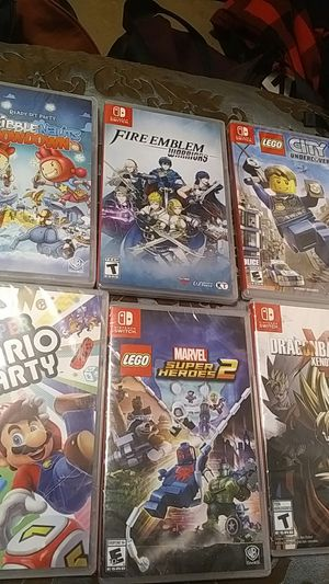 Six Nintendo switch games for Sale in Salt Lake City, UT
