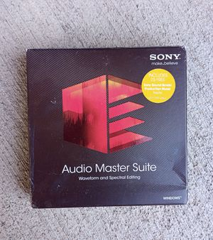 Audio Master Suite with Sound Forge Pro 11 & SpectraLayers Pro 2: Unused for Sale in Beverly Hills, CA