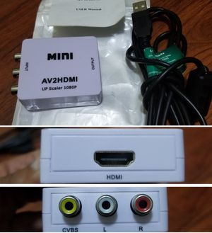 Av to hdmi up scaler for Sale in Long Beach, CA