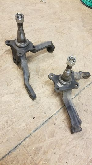 65 mustang v8 disc spindles. Original for Sale in Taunton, MA