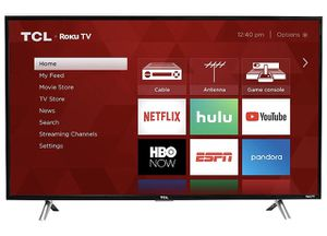 TCL 32S305 32-Inch 720p Roku Smart LED TV for Sale in Los Angeles, CA