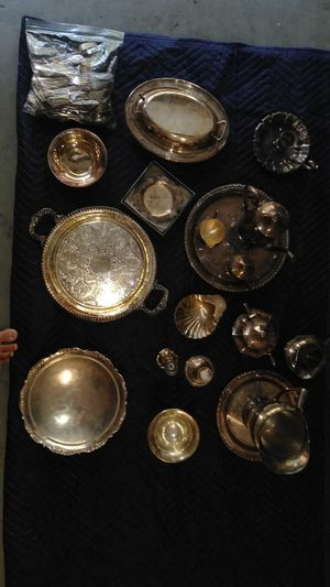 Misc silver-plated items for Sale in Pine Ridge, FL