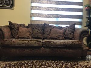 Medium-Sized Brown Couch for Sale in Bel Air, MD